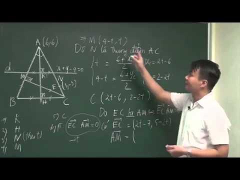 Hình học phẳng   Phương pháp độc đáo giải bài toán tam giác P2  Thầy Phạm Quốc Vượng