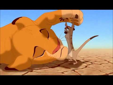 The Lion King - Timon and Pumba find Simba