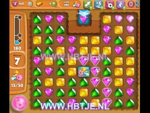 Diamond Digger Saga level 192