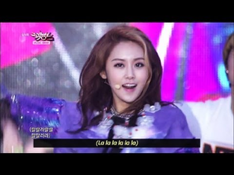 4minute - What's Your Name? (2013.05.25) [Music Bank w/ Eng Lyrics]