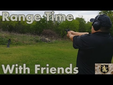Range Shooting With Friends 2014