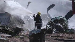 Military plane crashes in Somalia