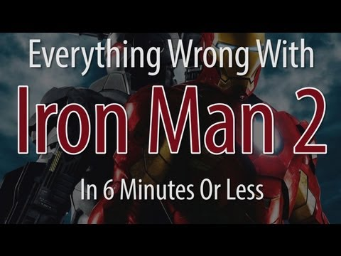Everything Wrong With Iron Man 2 In 6 Minutes Or Less, Everything Wrong With Iron Man 2 In 6 Minutes Or Less