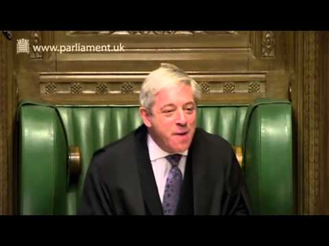 John Bercow Runs the Show