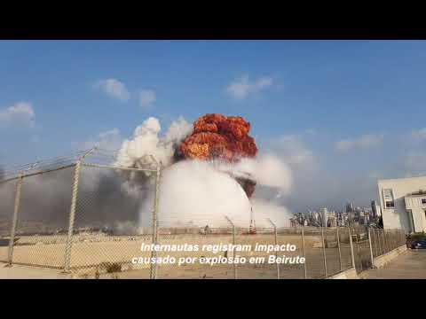 Imagens registram destruição em Beirute após explosão