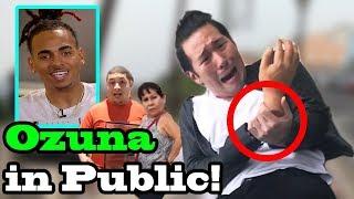VAINA LOCA - Ozuna x Manuel Turizo - SINGING IN PUBLIC!!