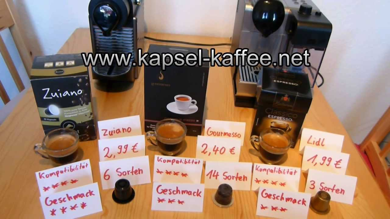 3 nespresso alternativen unter 30 cent kapsel im test. Black Bedroom Furniture Sets. Home Design Ideas