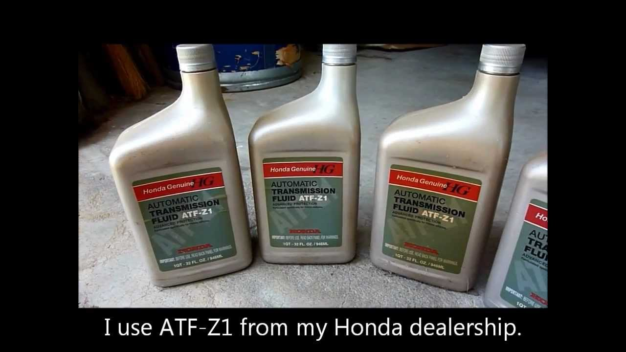 How To Change Honda Automatic Transmission Fluid Autos Post