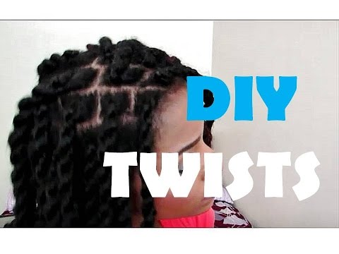 ♥DIY HAVANA TWISTS for Beginners (Step-by-Step) #NaturalHair #ProtectiveStyle
