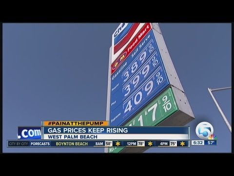 Gas prices continue to climb