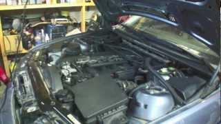Руководство по замене клапана вентиляции картерных газов на двигателях M54