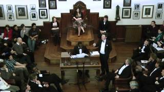 This House Has No Confidence in Her Majesty's Government, The Cambridge Union Society