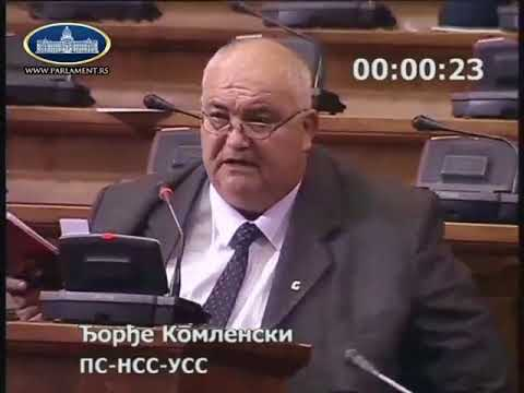 Ђорђе Комленски, побуњеник у покушају