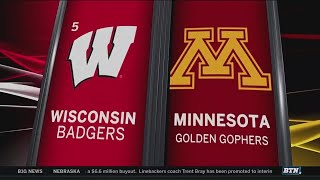 Wisconsin at Minnesota - Football Highlights