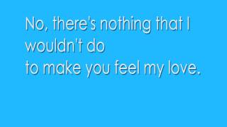 Adele Make You Feel My Love Lyrics
