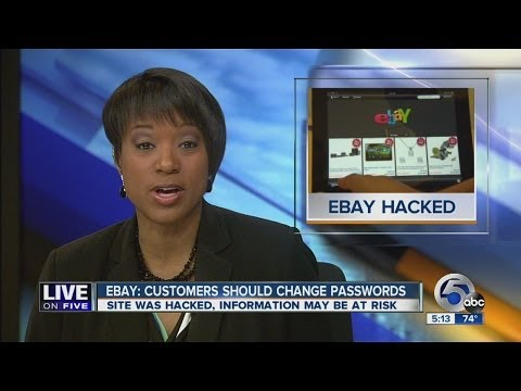 HACKED! eBay encourging users to change passwords after cyber attack
