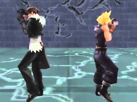 Cloud & Squall Dance Dissidia Final Fantasy