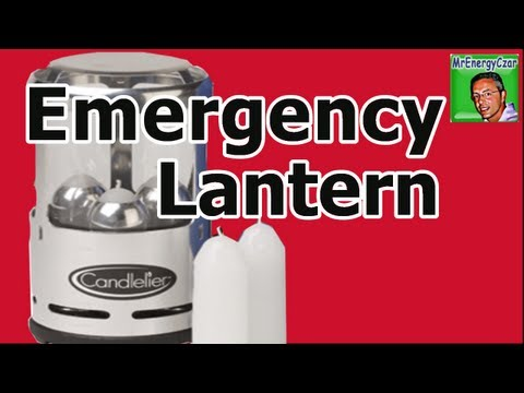 Emergency Lighting Candlelier Lantern