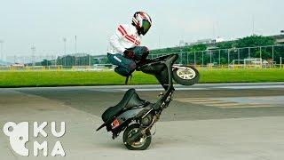 Skill gila Free style motor matic