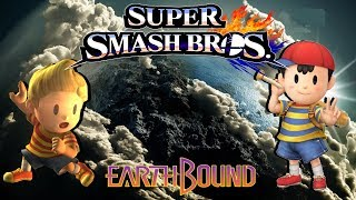 Super Smash Bros 4 Change Ness And Lucas Final Smash