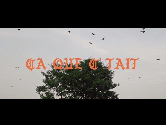 Un nouveau clip d'Alaclair Ensemble réalisé par GED pour «Ça que c'tait»