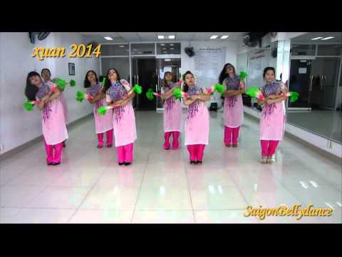 Con Bướm Xuân (Hồ Quang Hiếu), Modern dance Ms. Ly Ngoc, SaigonBellydance