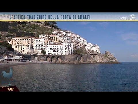 L'antica tradizione della carta di Amalfi