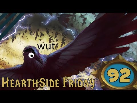 HearthSide Friday #92 - The 500IQ Mage Deck (HearthStone Standard Gameplay)