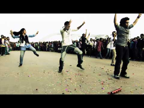 ICC World Twenty20 Bangladesh 2014 - Flash Mob,  United International University