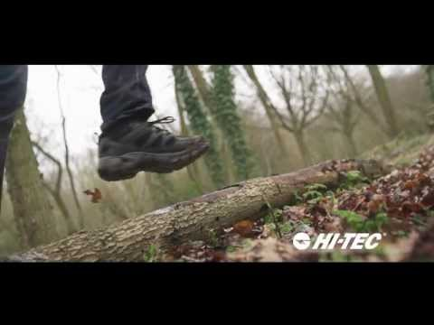 Hi-Tec ALTITUDE TREK LOW i Mens Waterproof Walking Shoes Dark Chocolate