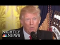 'Leaks Are Real, News Is Fake', Pres. Trump Says In Combative News Conference | NBC Nightly News
