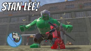LEGO Marvel Heroes Stan Lee Gameplay And Unlock Location