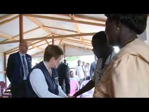 Commissioner Georgieva visiting Central African Republic