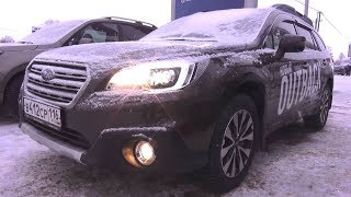 2017 Subaru Outback. Start Up, Engine, and In Depth Tour.. MegaRetr