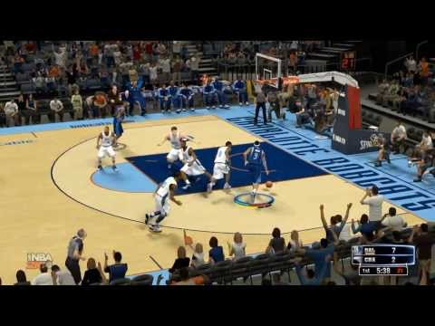NBA 2K14: Dallas Mavericks vs Charlotte Bobcats Highlights (Mavs Season game 53)