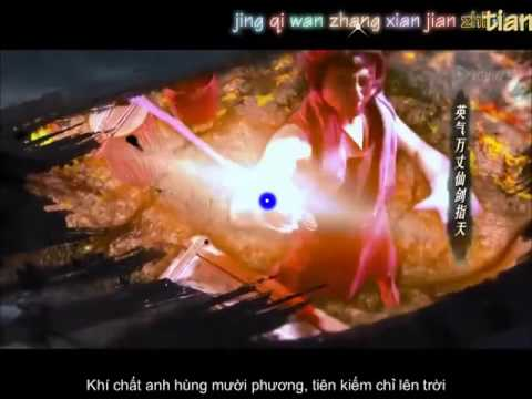 Vietsub Tiên Hiệp Kiếm OST   仙侠剑 Tiêu Cầm Khúc