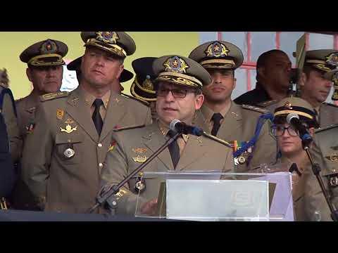 Brigada Militar completa 180 anos com homenagens e formatura de policiais