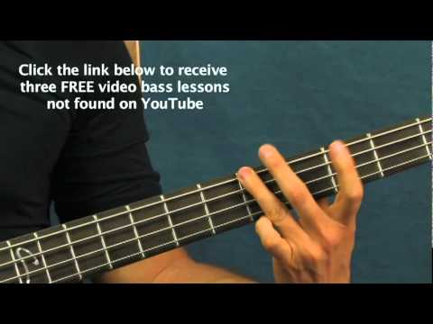 easy guitar bass lesson back in black acdc