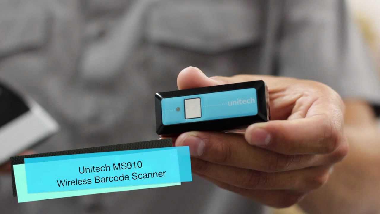Nuevo lector de código barras Unitech MS910