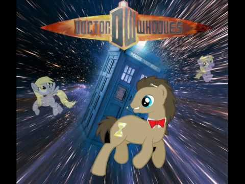 To the TARDIS! (Fighting theme of Doctor Whooves)