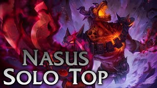 League Of Legends Infernal Nasus Solo Top Full Game