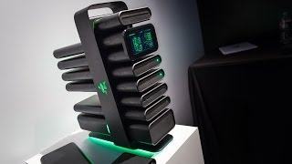 "CES 2014: Razer's ""Project Christine"" Gaming PC Concept"