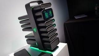 "CES 2014: Razer's ""Project Christine"" Gaming PC Concept"