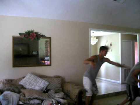 black boy getting a wedgie