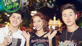 Việt Nam tươi đẹp l Noo Phước Thịnh và Diệu Nhi đưa Basick khám phá TP.HCM về đêm | VNTD l HTV Web