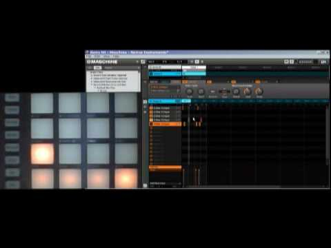 Tutorial: resampling a drum loop with Native Instrument Maschine