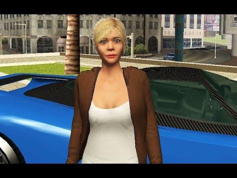Tracey De Santa for GTA San Andreas