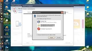 Restaurar Sistema De Xperia Con Sony Pc Companion