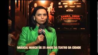 Musical Samba, Amor e Malandragem estreia em BH nesta quinta-feira