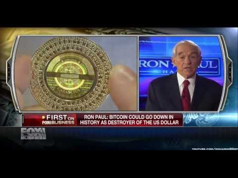 Ron Paul: BitCoin Could Go Down In History As Destroyer Of The US Dollar